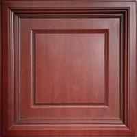 Ceilume Madison Faux Wood-Cherry 2 ft. x 2 ft. Lay-in ...