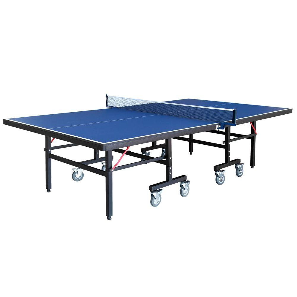 Kettler Wave Set Hathaway Back Stop 9 Ft Table Tennis For Family Game Rooms With Foldable Halves For Individual Play