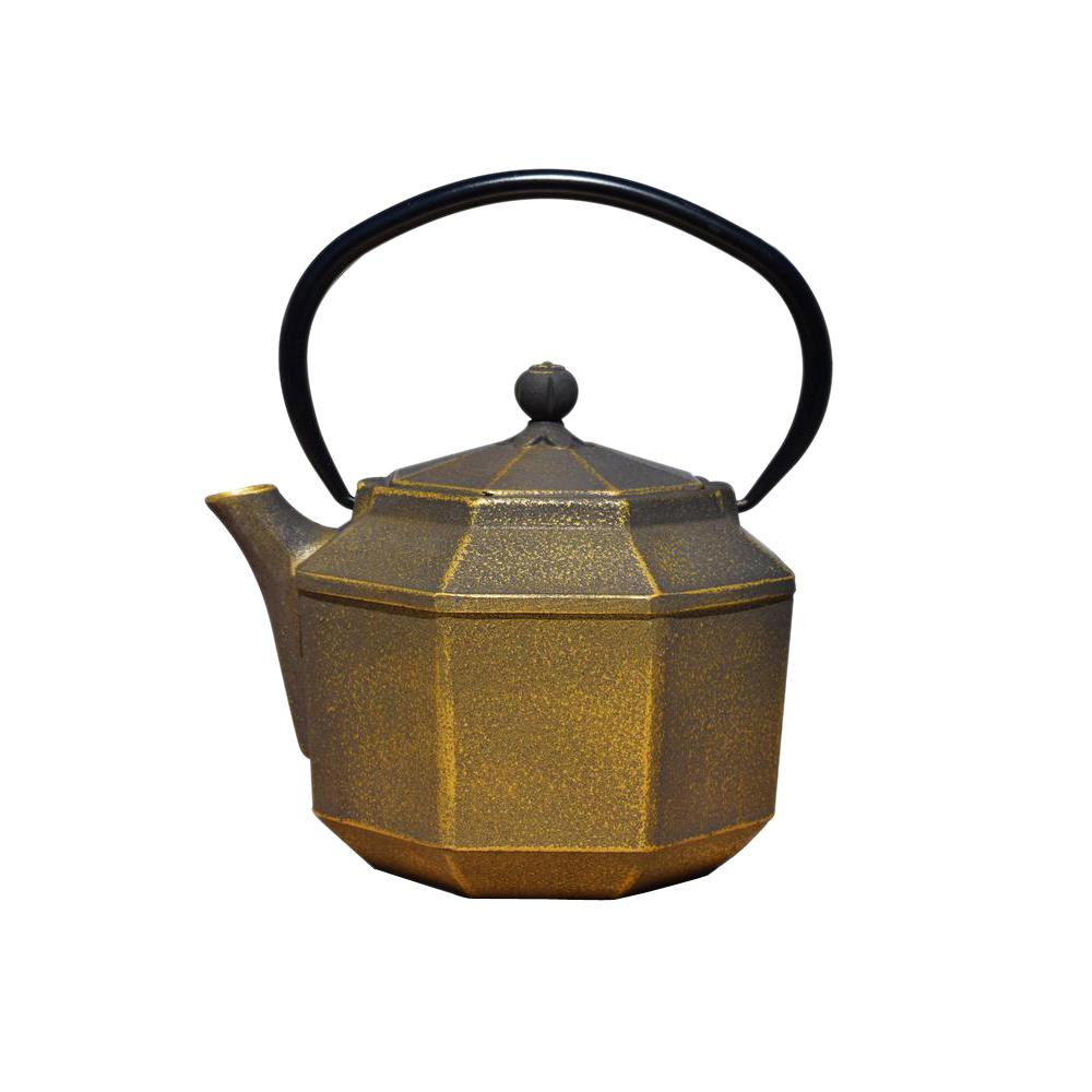 Teapot With Cup Pagoda 3 5 Cup Teapot In Black And Gold