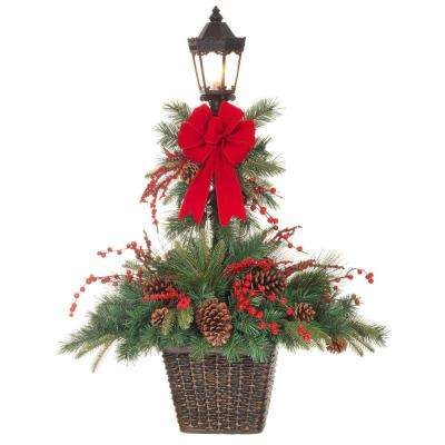 Pre-decorated - Outdoor Christmas Decorations - Christmas - home depot outdoor christmas decorations