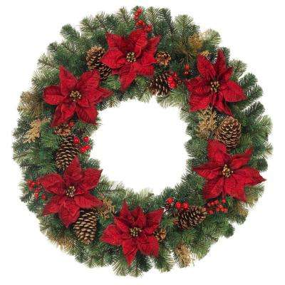 Home Accents Holiday - Christmas Wreaths \ Garland - Christmas - christmas wreath decorations