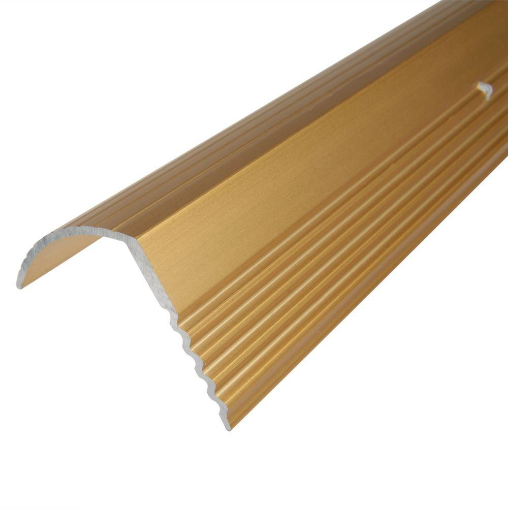 Trafficmaster Gold 1 In X 1 16 In Stair Edging H6255 Hg