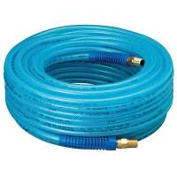 Amflo 1/4 in. x 100 ft. HD Bend Restrictors Air Hose with ...