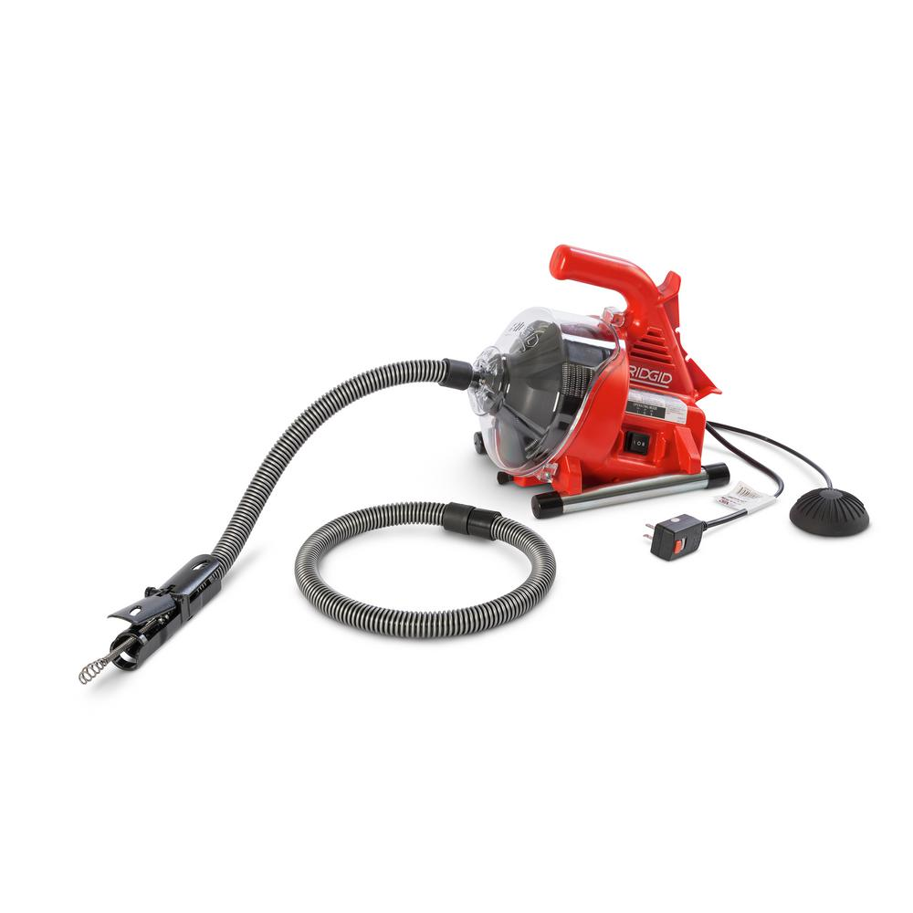 Sewage Cleaner Ridgid Powerclear Drain Cleaner