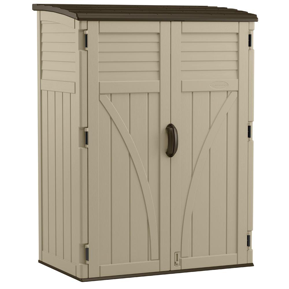 Home Depot Sheds For Sale 2 Ft 8 In X 4 Ft 5 In X 6 Ft Large Vertical Storage Shed