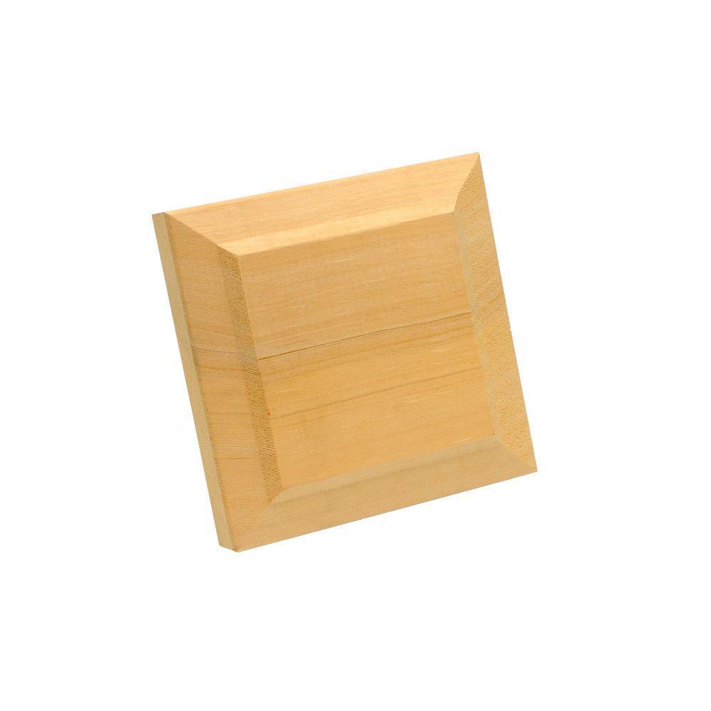 Stair Simple Hemlock Newel Cap Trim Kit He9920000w The