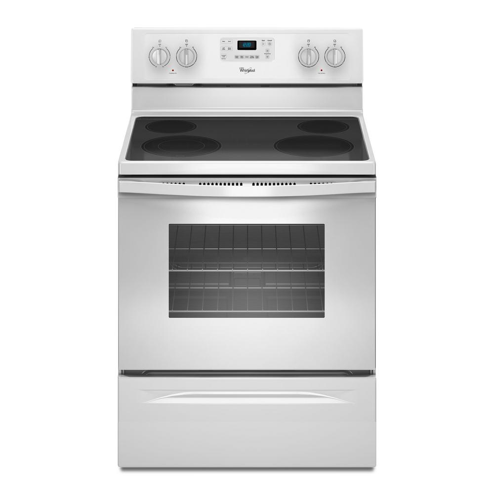 Whirlpool Oven Symbolen Whirlpool 5.3 Cu. Ft. Electric Range With Self-cleaning