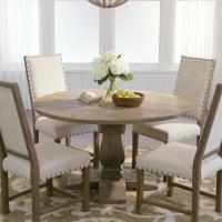 Home Decorators Collection Aldridge Antique Grey Round ...