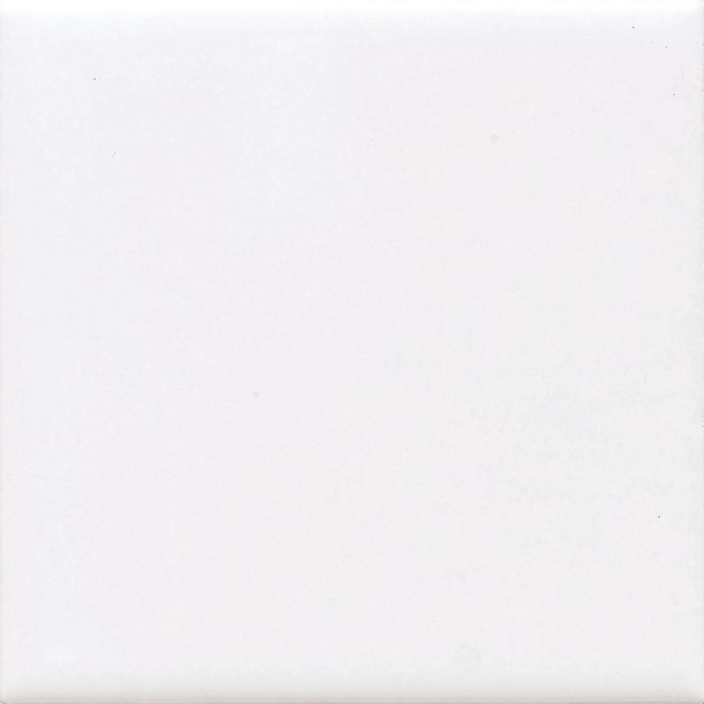 Daltile Finesse Bright White 4 in. x 4 in. Ceramic Wall