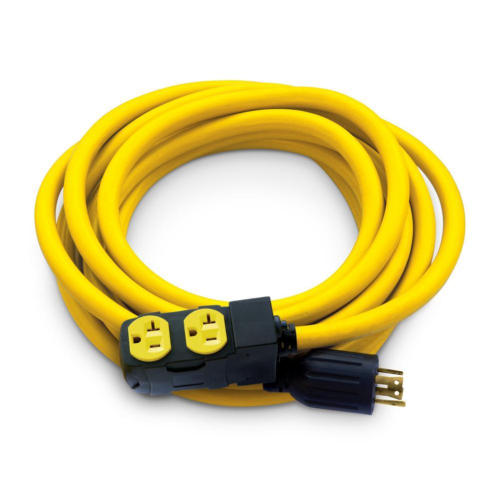 AC WORKS Locking Adapter NEMA L14-30P 30Amp 125/250Volt 4Prong