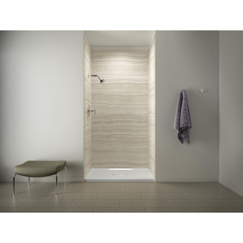 Kohler Choreograph Reviews Kohler Archer Shower Base In White With Choreograph 96 In