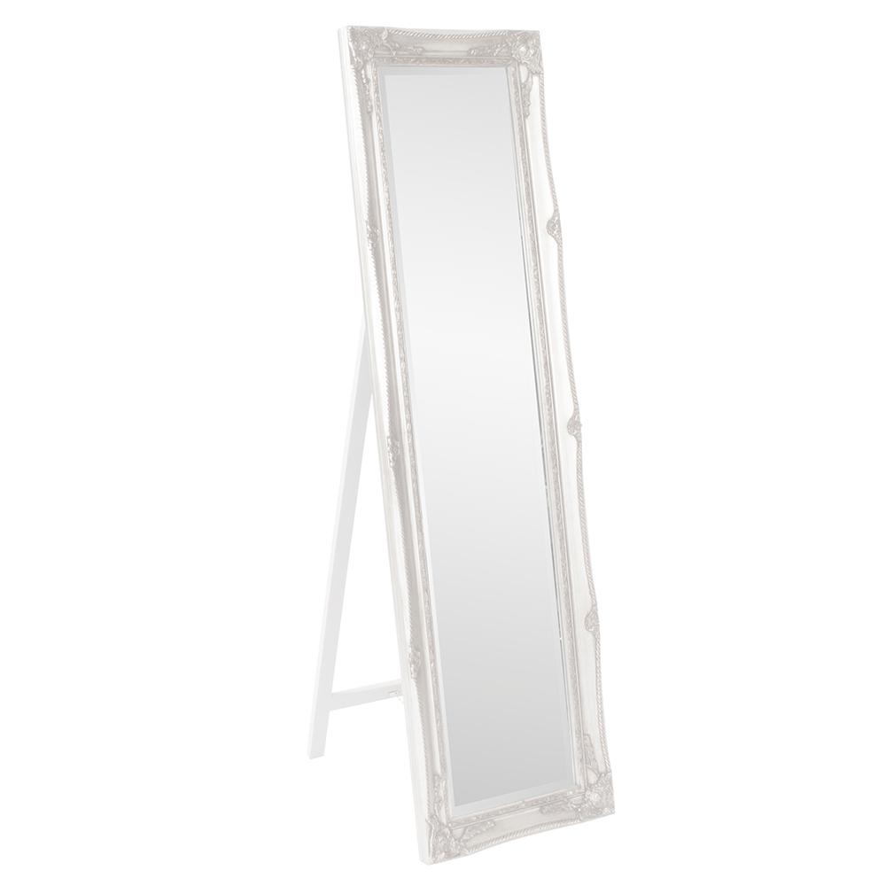 Standing Mirror The Howard Elliott Collection 66 In X 18 In White Standing Mirror