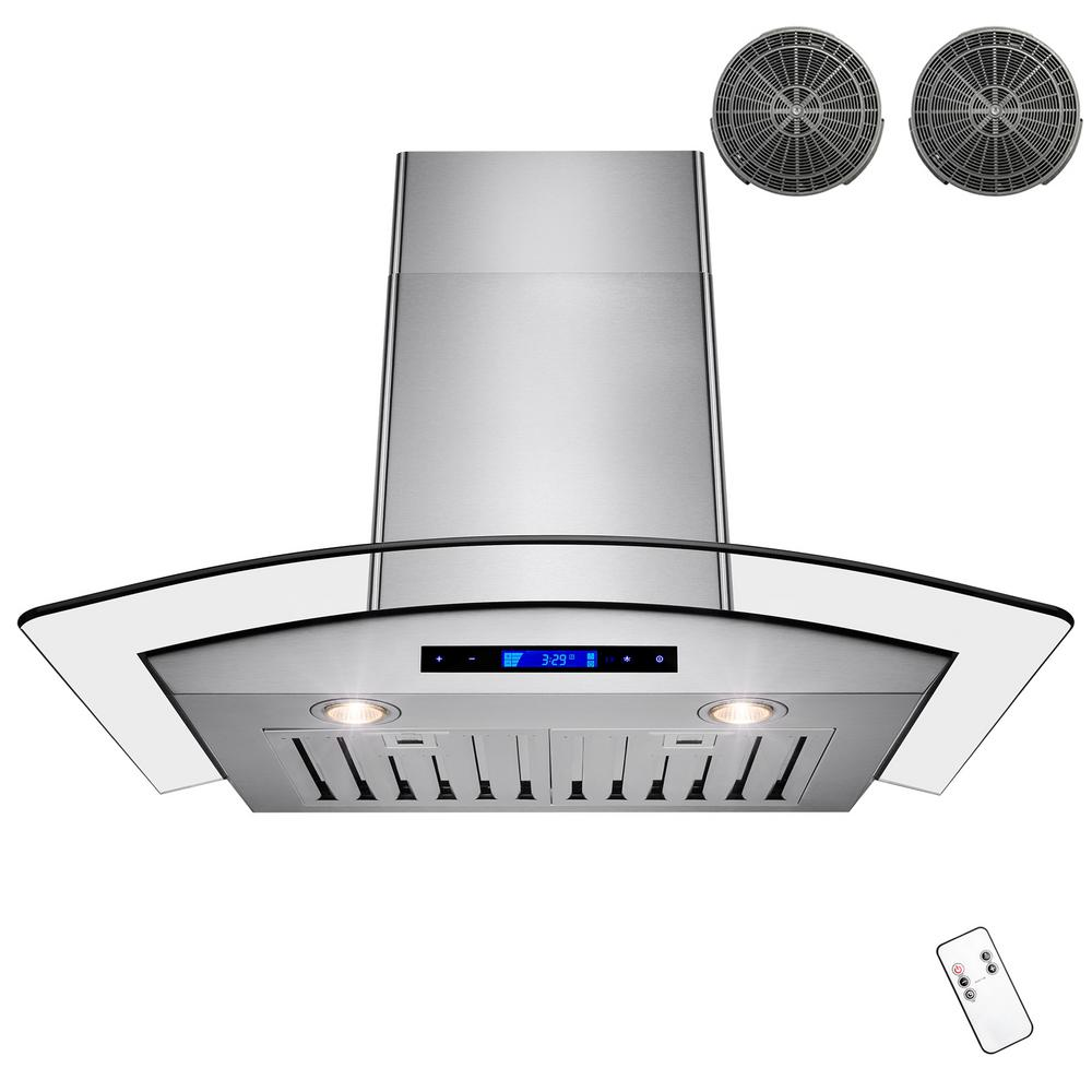 Smartly Stainless Steelwith Arched Tempered Akdy Convertible Kitchen Wall Mount Range Hood Akdy Convertible Kitchen Wall Mount Range Hood Stainless Akdy Range Hood Carbon Filter Akdy Range Hood Extens houzz-02 Akdy Range Hood