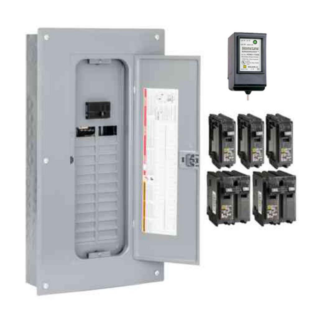 Siemens ES Series 200 Amp 40-Space 40-Circuit Main Breaker Load