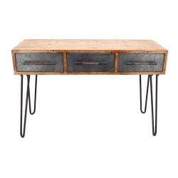 Small Crop Of Metal Console Table