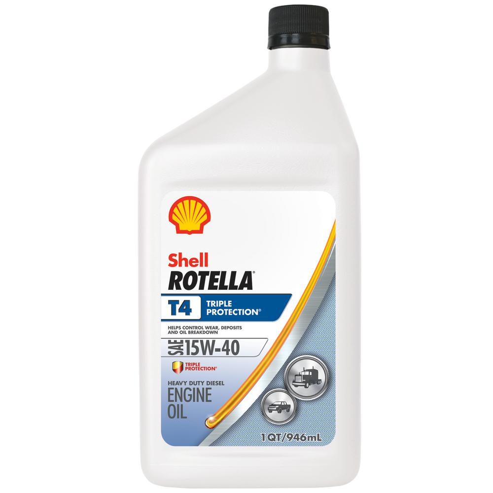 15w40 Olie Shell Rotella Rotella T4 Triple Protection 15w-40 Diesel