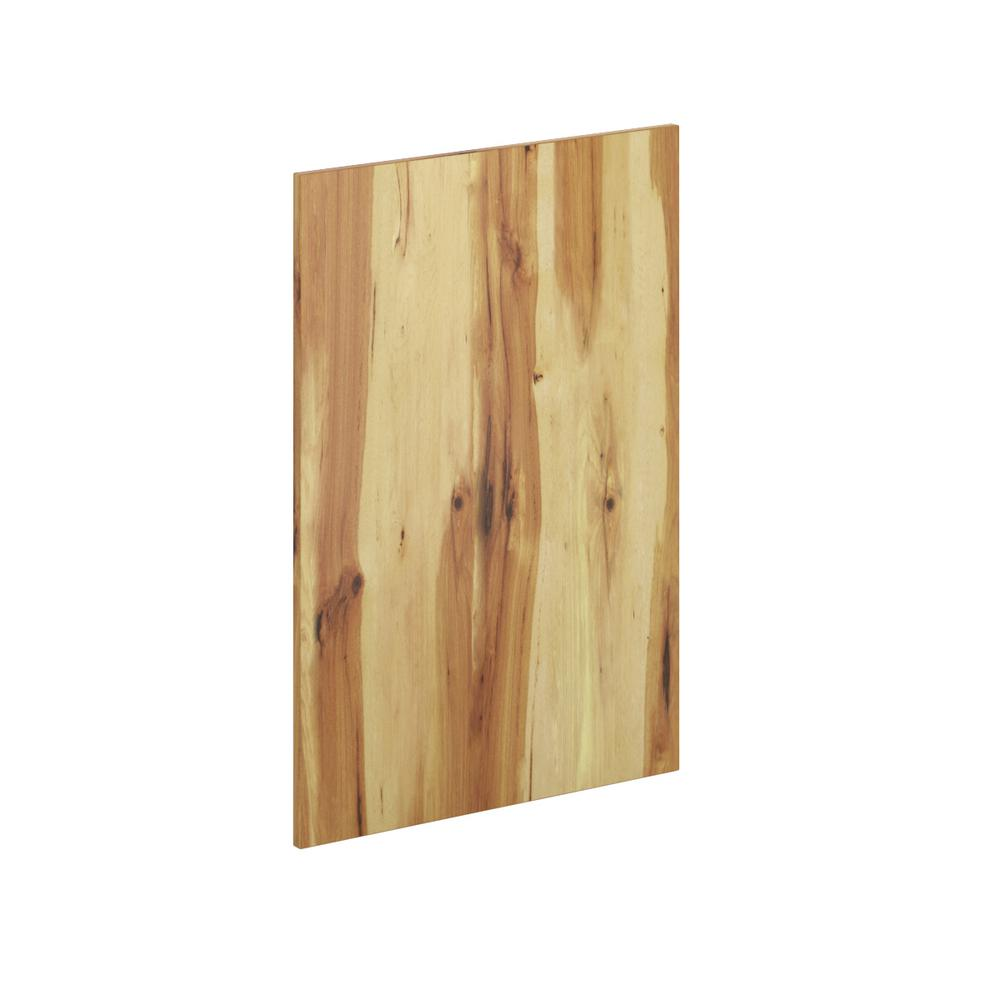 2 Pack Kitchen Hampton Bay 23 25 In X 34 5 In X 125 In Kitchen Cabinet Flush Fit End Panel In Pure Hickory 2 Pack