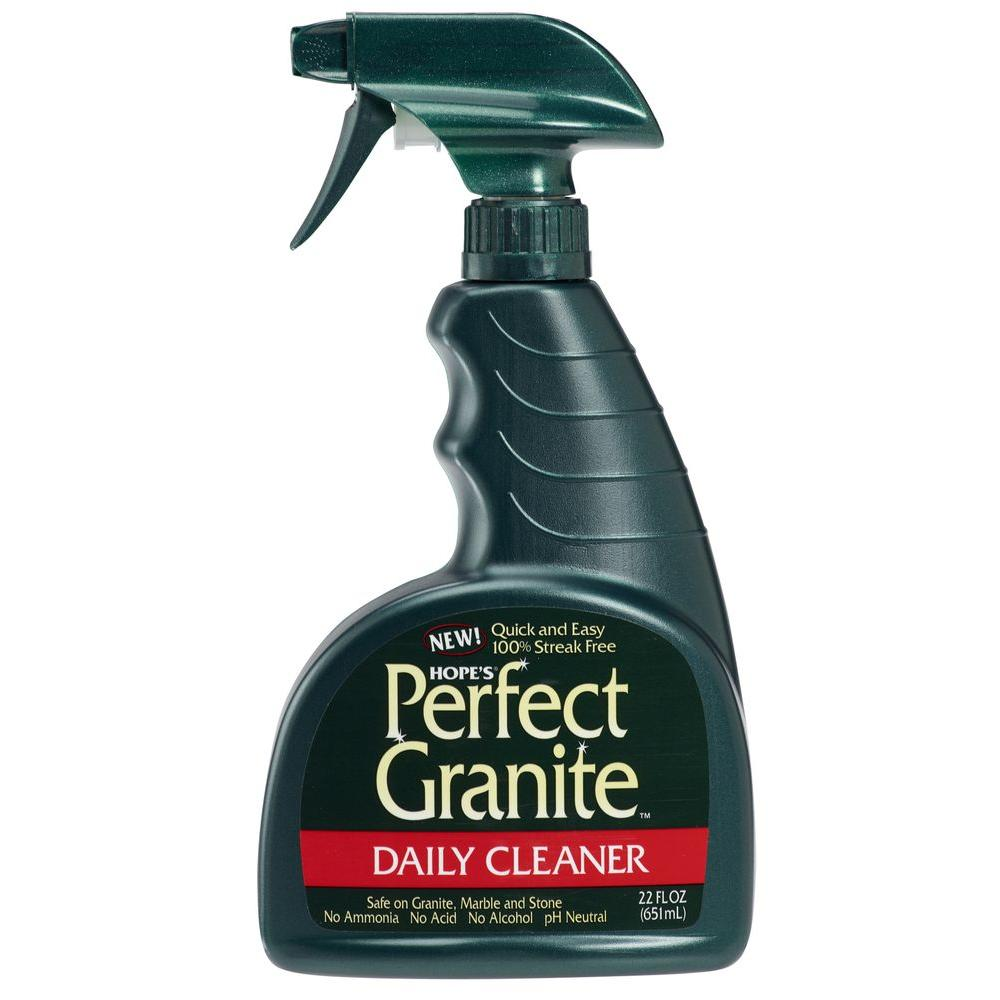 Hope S 22 Oz Perfect Granite Daily Granite Cleaner 22gr12 The Home Depot