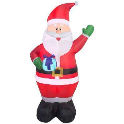 Santa - Outdoor Christmas Decorations - Christmas Decorations - home depot outdoor christmas decorations