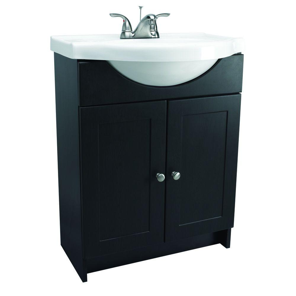 Design House 31 In Euro Style Vanity In Espresso With