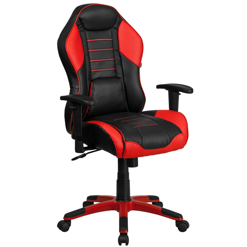 Sedia Gaming Kinsal Red Fabric Ergonomic Swivel Task Chair Products In 2018
