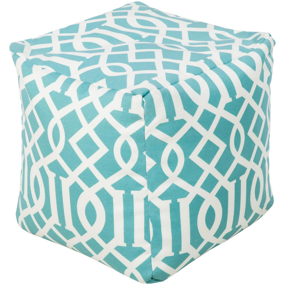 Pouf Mint Deimos Accent Pouf In Mint
