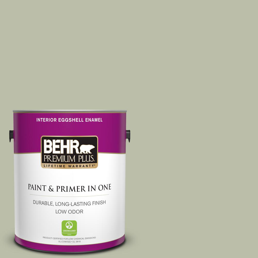 Urban Nature Interieur Behr Premium Plus 1 Gal S380 3 Urban Nature Eggshell Enamel Low Odor Interior Paint And Primer In One