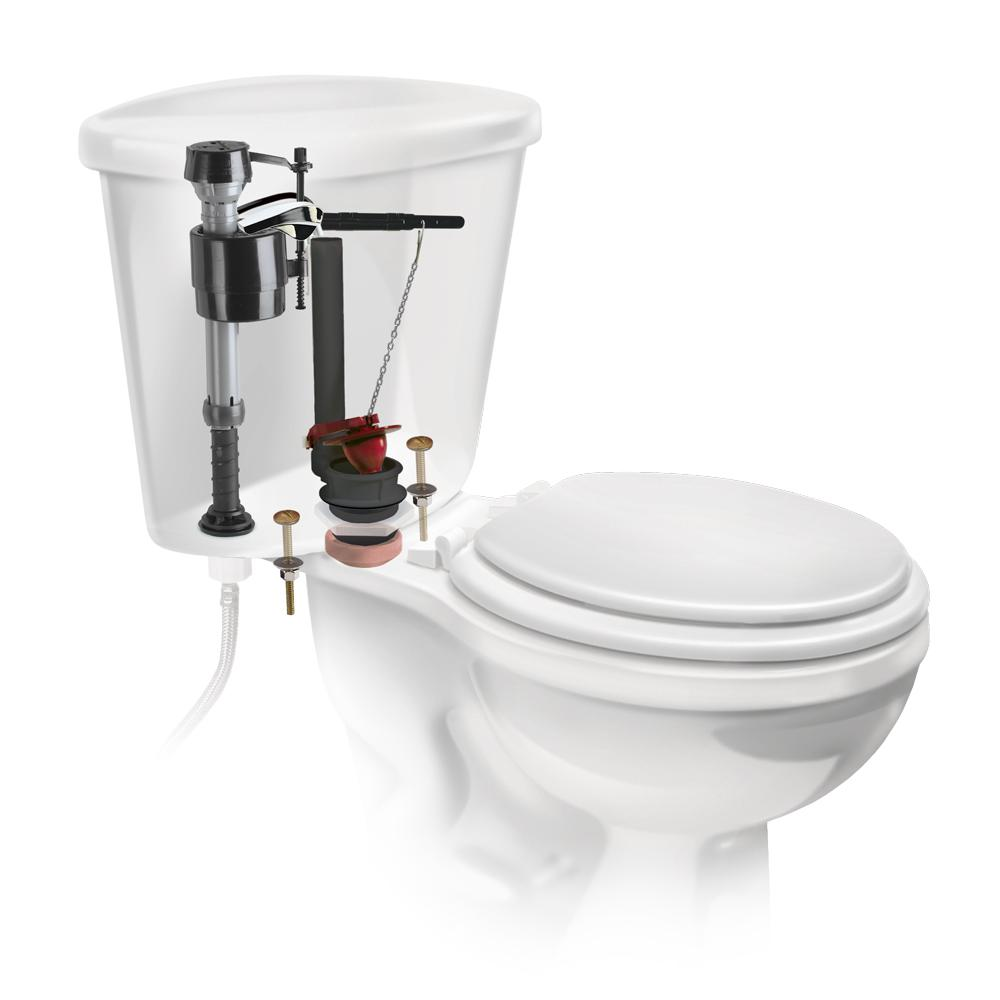 Commodes Solver Fluidmaster Universal 2 In Complete Toilet Repair Kit