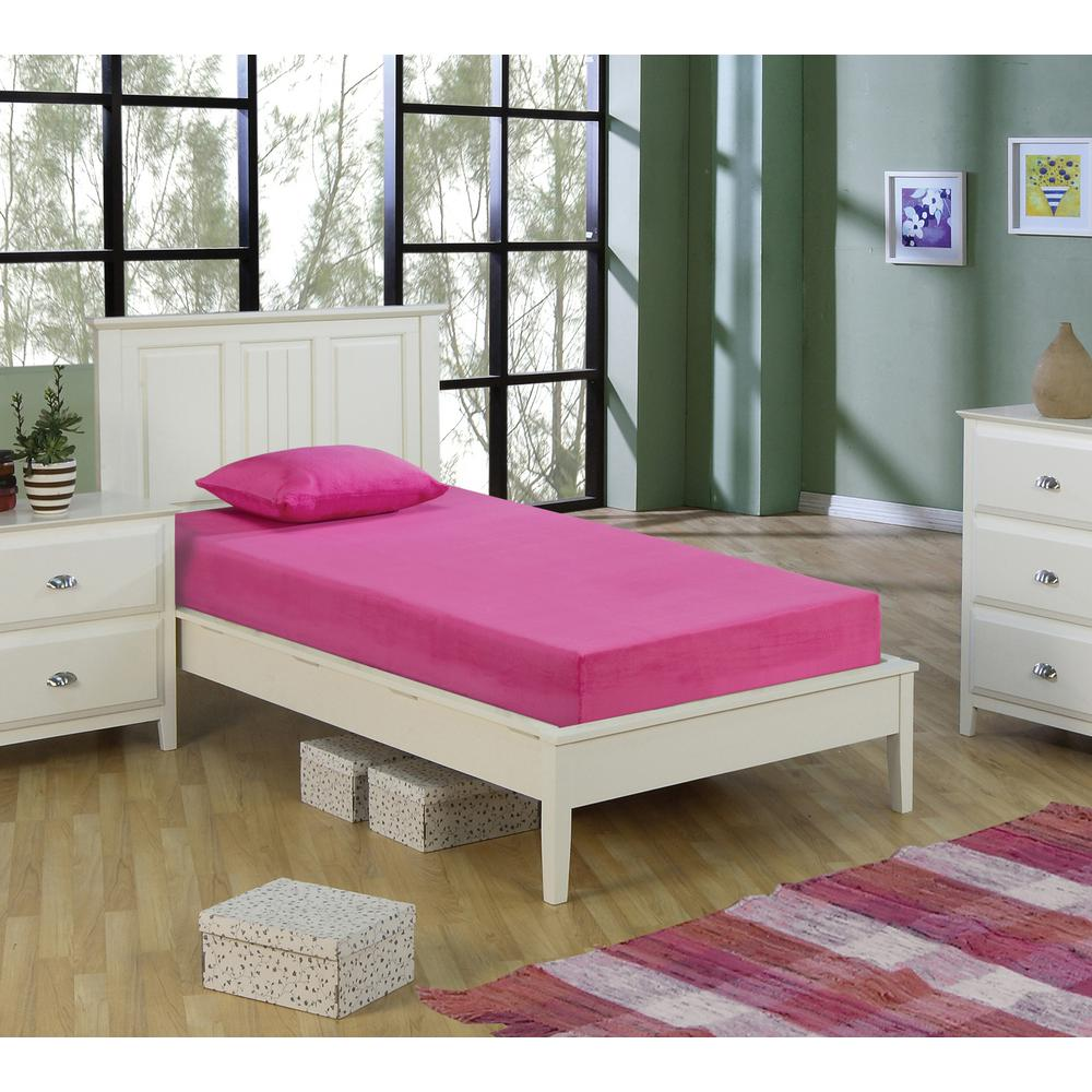 Double Size Bed Kids Pink 5 In Double Size Memory Foam Mattress With Comfort Foam