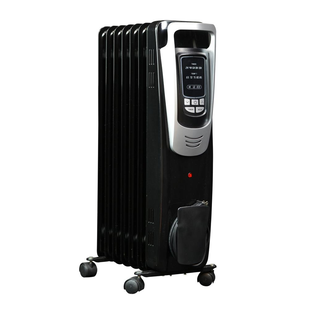 Electric Garage Heater Black Friday Newair 1500 Watt Electric Oil Filled Radiant Portable Heater