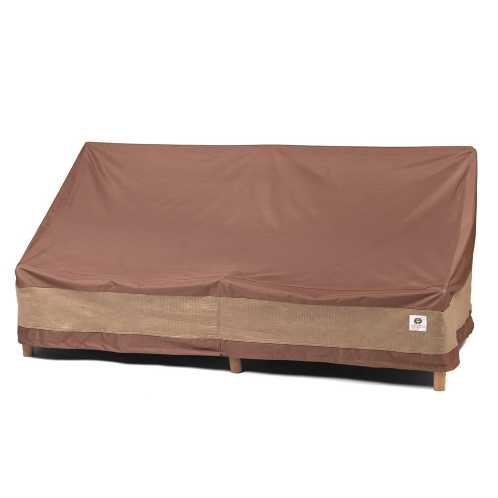 Sofa L Jumbo Duck Covers Ultimate 87 In W Patio Sofa Cover