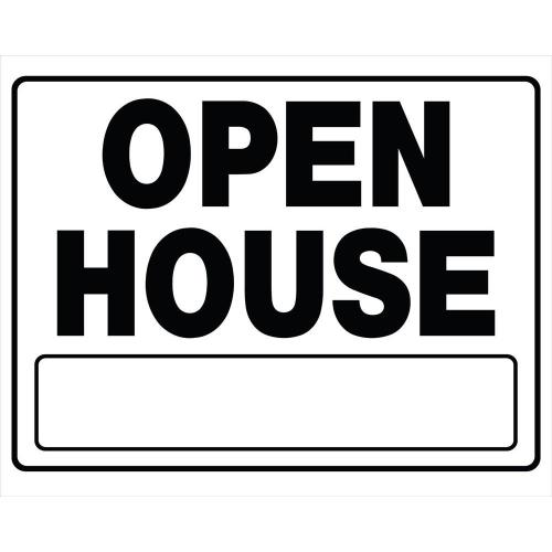 Medium Of Open House Signs