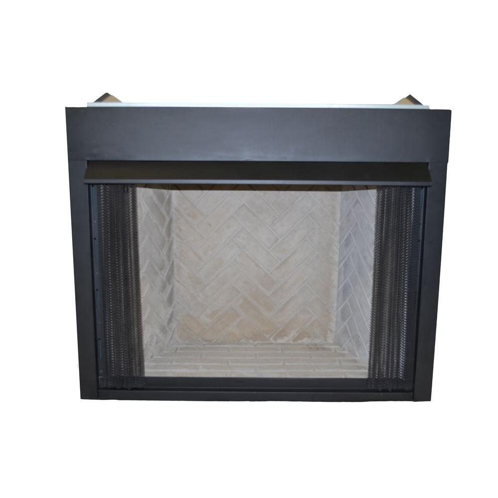 Propane Fireplace Inserts Emberglow 36 In Vent Free Natural Gas Or Liquid Propane Low Profile Firebox Insert