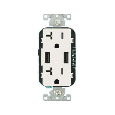 USB Port - Electrical Outlets  Receptacles - Wiring Devices  Light