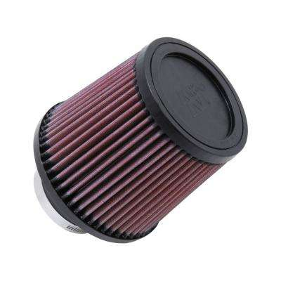 KN Filter Universal Rubber Filter-Rd Tapered 3in Flange ID x 6in