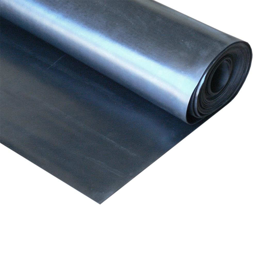 Epdm Rol Rubber Cal Epdm 1 16 In X 36 In X 72 In Commercial Grade 60a Rubber Sheet Black
