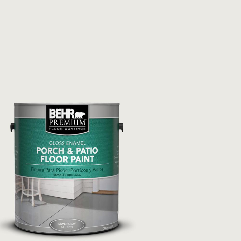 Patio Moderne Behr Premium 1 Gal Ppu24 14 White Moderne Gloss Interior Exterior Porch And Patio Floor Paint