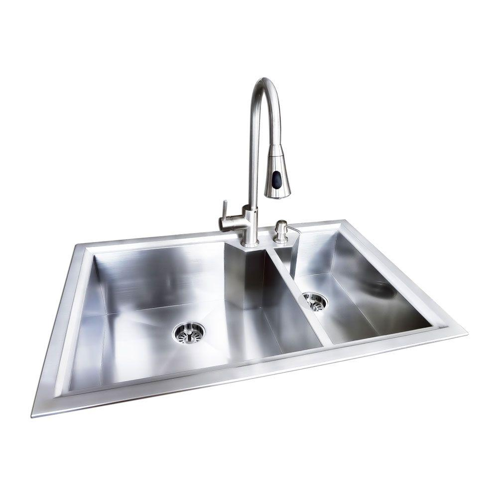 Fun Glacier Bay Dual Mount Stainless Steel Bowl Fabricatedoffset Glacier Bay Dual Mount Stainless Steel Bowl Glacier Bay Sinks Canada Glacier Bay Sink Drain houzz-02 Glacier Bay Sinks