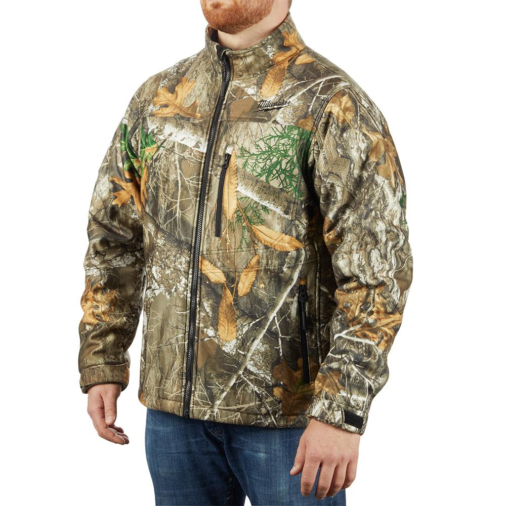 M12 Heated Jacket Milwaukee Men S 2x Large M12 12 Volt Lithium Ion Cordless Realtree Camo Heated Jacket Kit With 1 2 0ah Battery And Charger