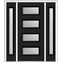 Black - Front Doors - Exterior Doors - The Home Depot