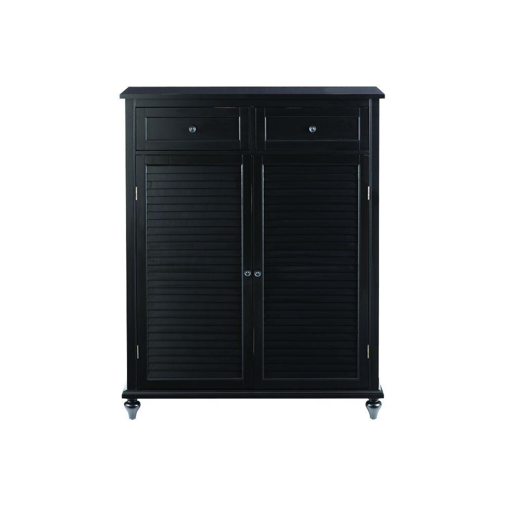Fullsize Of Black Storage Cabinet