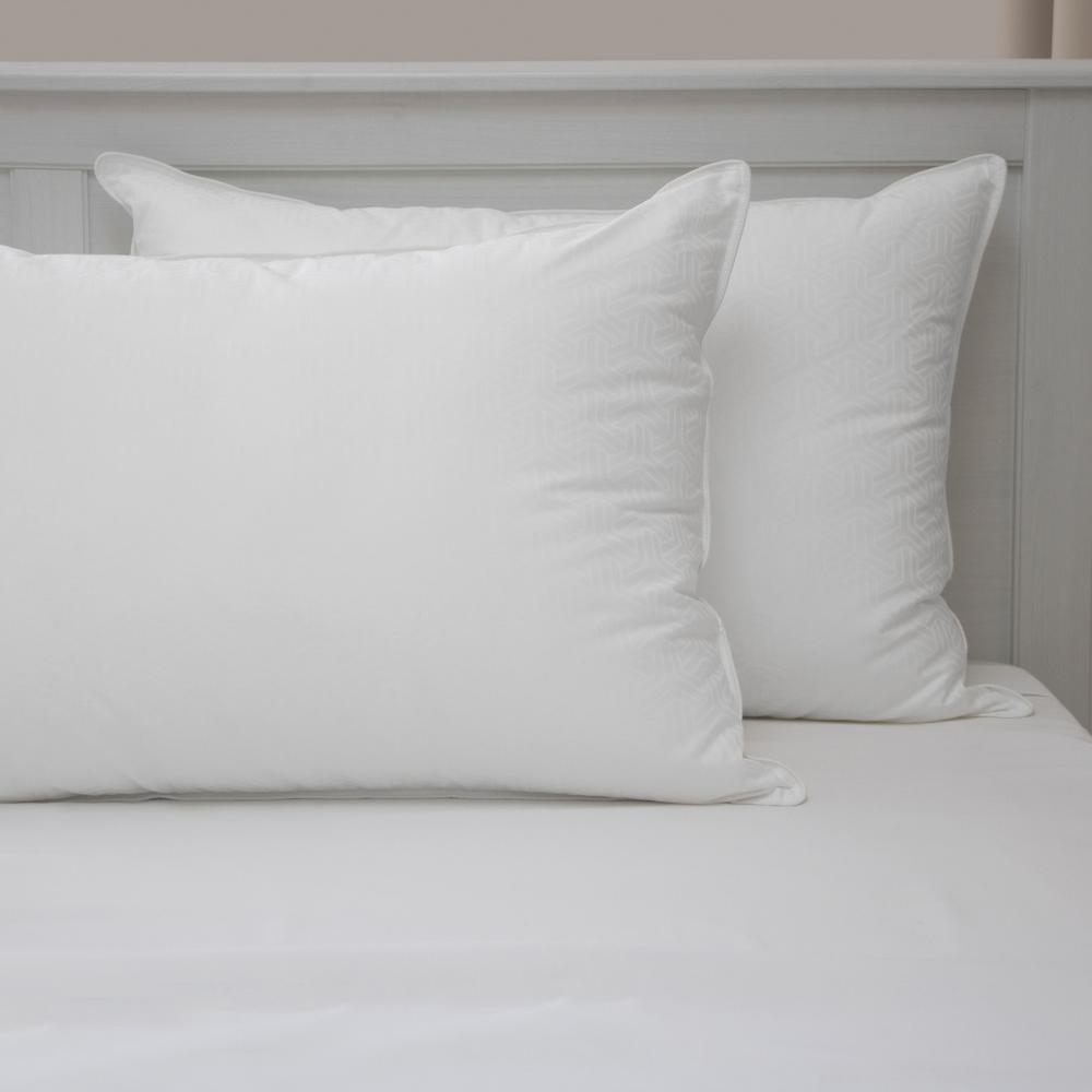 Standard Bed Pillows Restonic Hotel Quality Gel Fiber Standard Pillow 2 Pack 80678