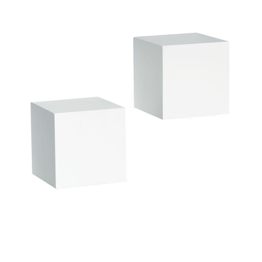 Fullsize Of Floating White Wall Shelves