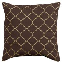 Home Decorators Collection Pisa Brown Square Outdoor Throw
