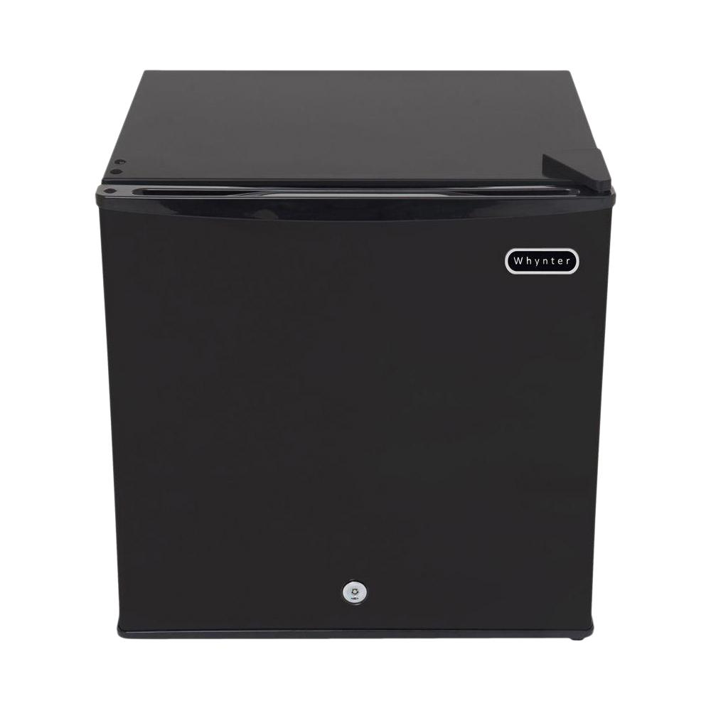 Black Freezer Whynter 1 1 Cu Ft Portable Freezer In Black With Lock Energy Star