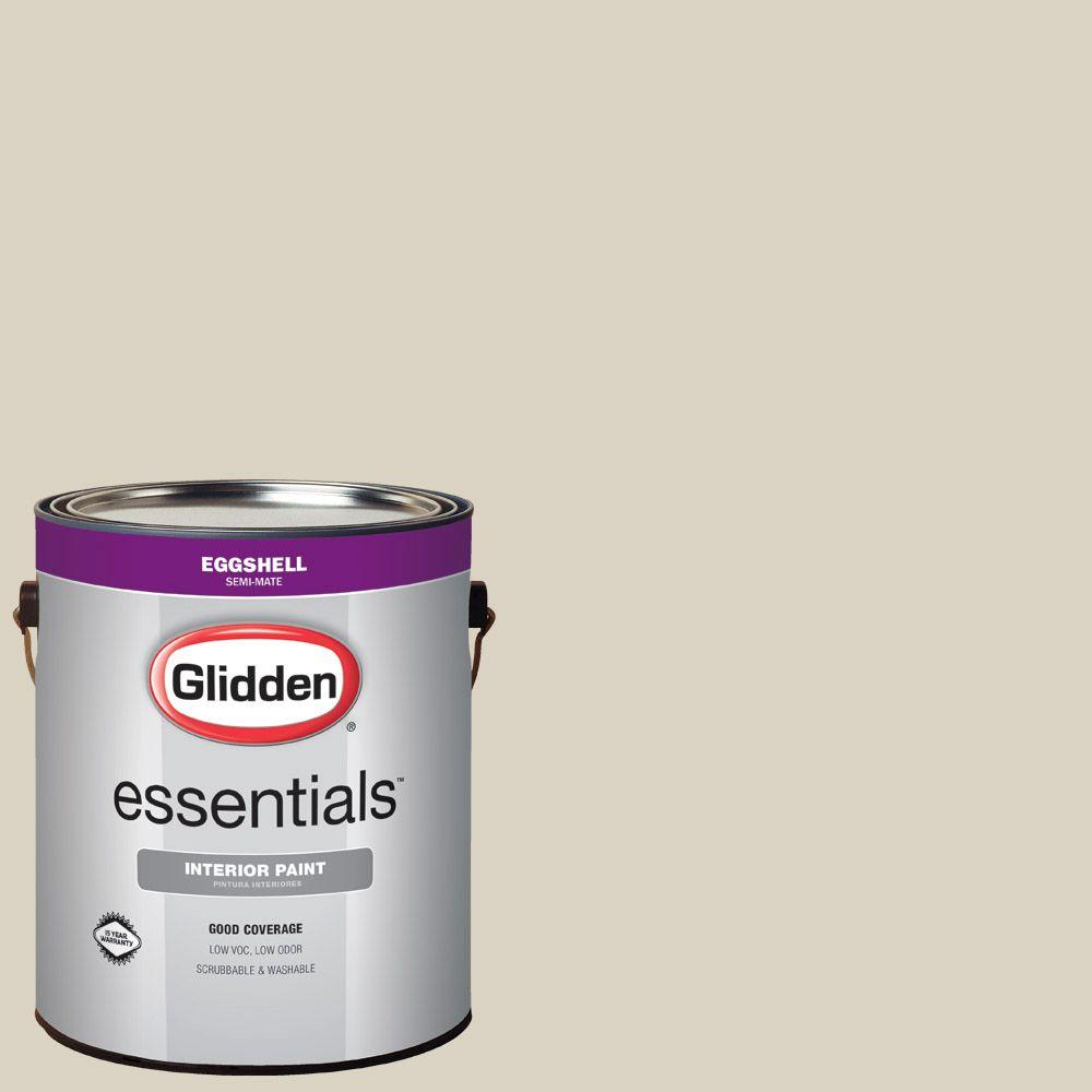 White Sage Paint Glidden Essentials 1 Gal Hdgwn54 White Sage Eggshell Interior Paint