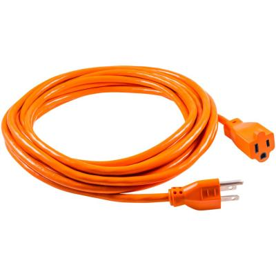 HDX 100 ft 16/3 Indoor/Outdoor Extension Cord, Orange-HD#277-525