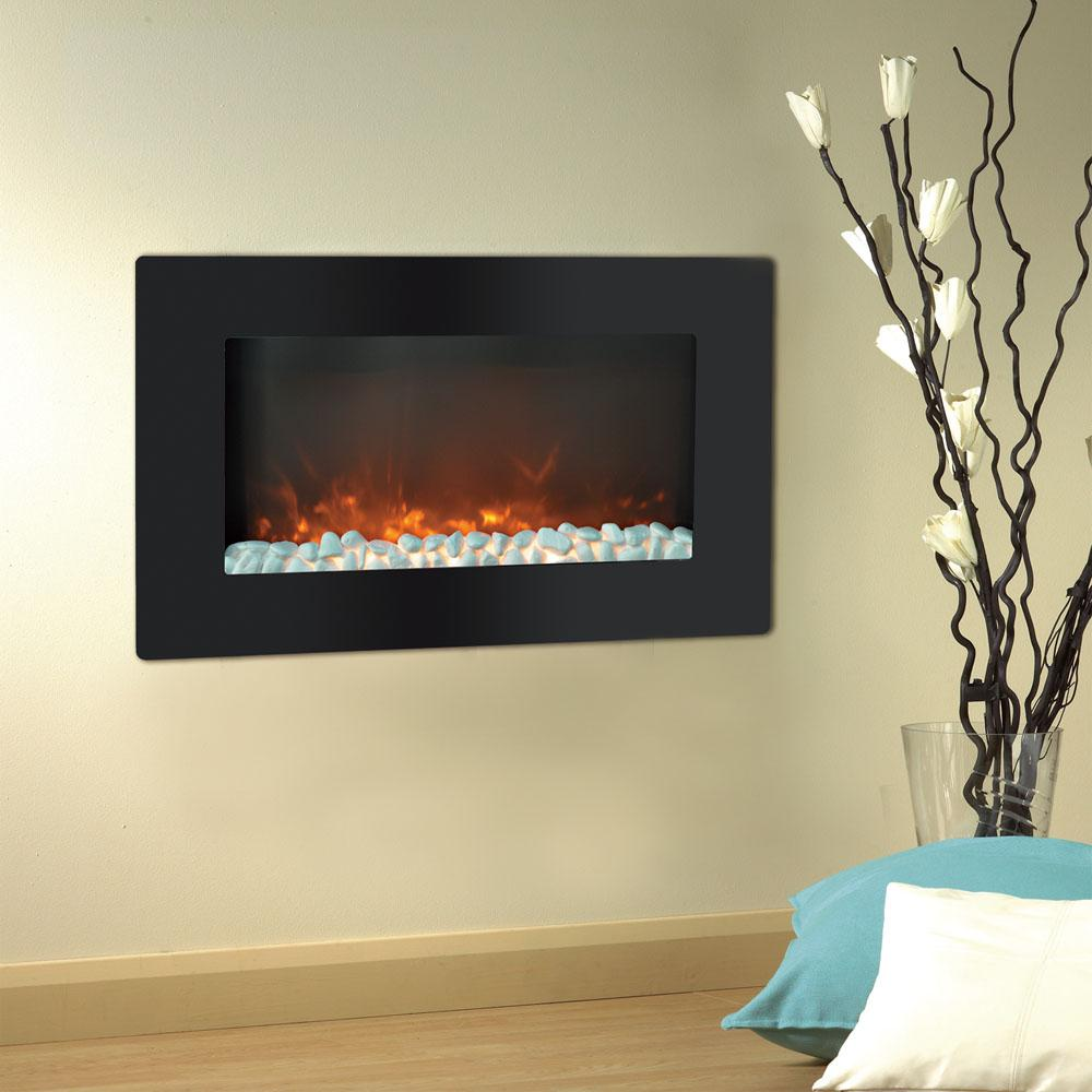 Electric Fireplace Built Into Wall Wall Mounted Electric Fireplaces Electric Fireplaces The Home