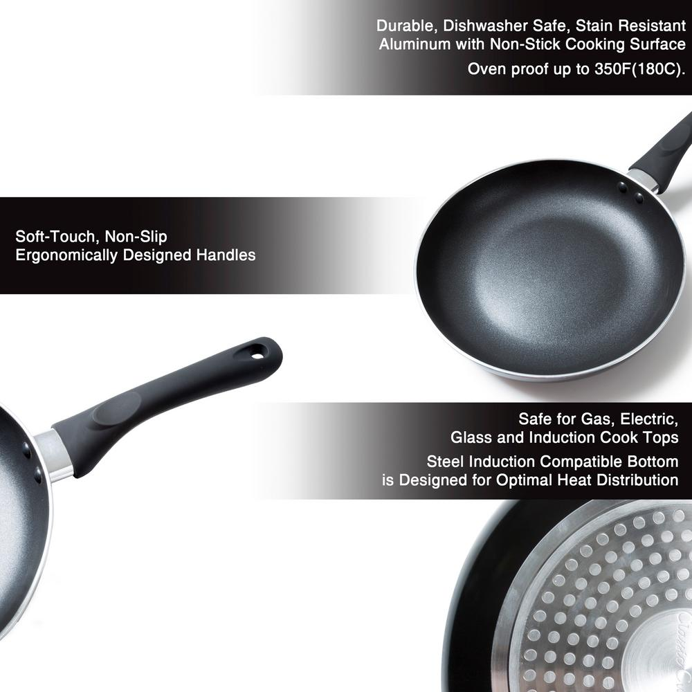 Cuisine Induction Classic Cuisine Non Stick 10 In Round Frying Pan With Induction