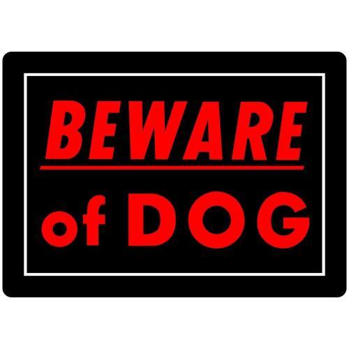 Medium Crop Of Beware Of Dog Signs